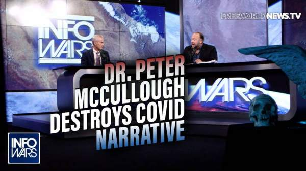 Dr. Peter McCullough Destroys the Official COVID Narrative In-Studio with Alex Jones