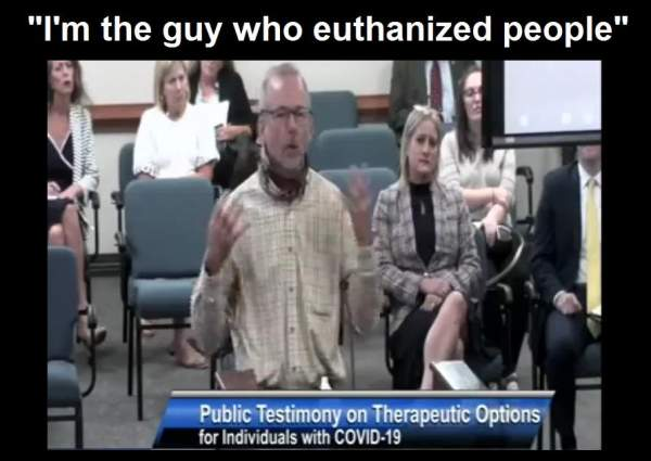 """SC Nurse Testifies About Unknowingly Killing """"COVID"""" Patients: """"I'm The Guy That Euthanized People"""" (Video) - The Washington Standard"""