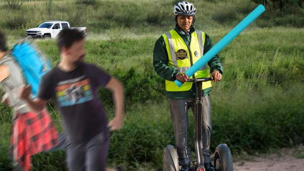 Border Patrol Ordered To Chase Immigrants With Segways And Pool Noodles   The Babylon Bee