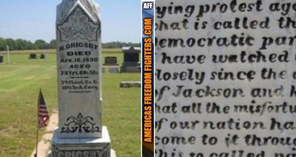 """The 126-Year-Old """"Grave"""" Warning About Democrats That's EERILY Accurate Today"""