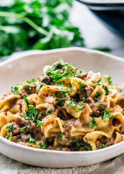 Instant Pot Beef Stroganoff - Jo Cooks