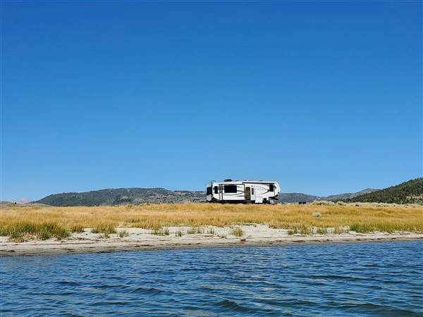 Pinedale, Wy. - Soda Lake - and EXCEPTIONAL dry RV Camping...
