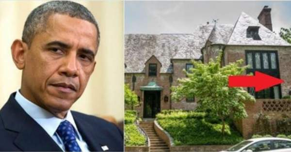 People CAN'T Stop Talking About What's RIGHT Next To Obama's New Home, Is It A Sign?