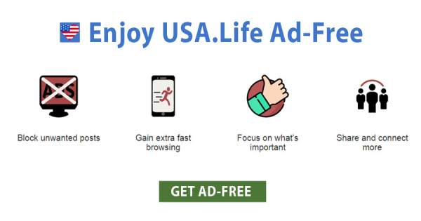Ad Free is the Premiere USA.Life Experience