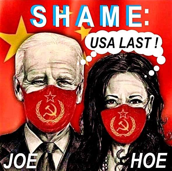SlantRight 2.0: Beijing Biden Jab Mandate a Homeland Attack