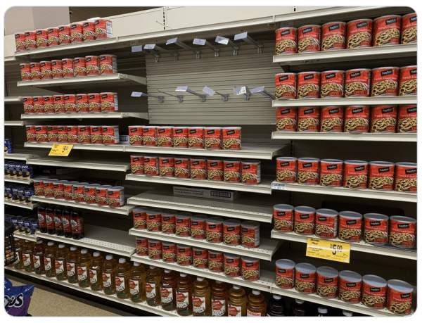 As The Shelves Get Emptier, How Long Can They Keep The Charade Going? - The Washington Standard