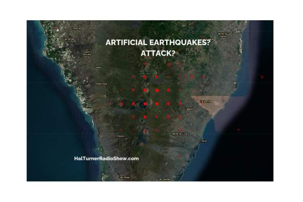 Hal Turner Radio Show - BULLETIN: EVIDENCE THAT LAPALMA ERUPTION & EARTHQUAKES ARE ARTIFICIAL ATTACK!