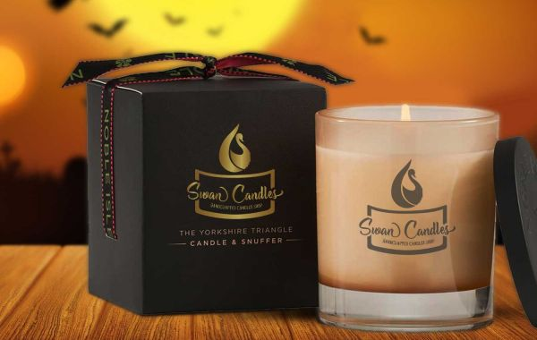 Get Special Scary Halloween Candle Packaging Boxes