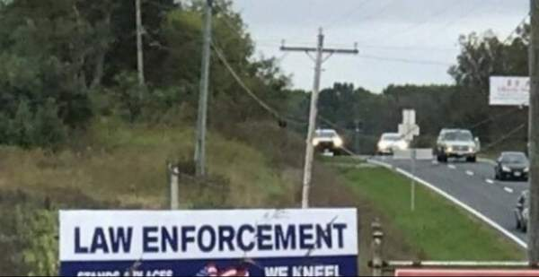 TICKED OFF Sheriff Goes VIRAL After Erecting MASSIVE Highway Sign About NFL Crybabies